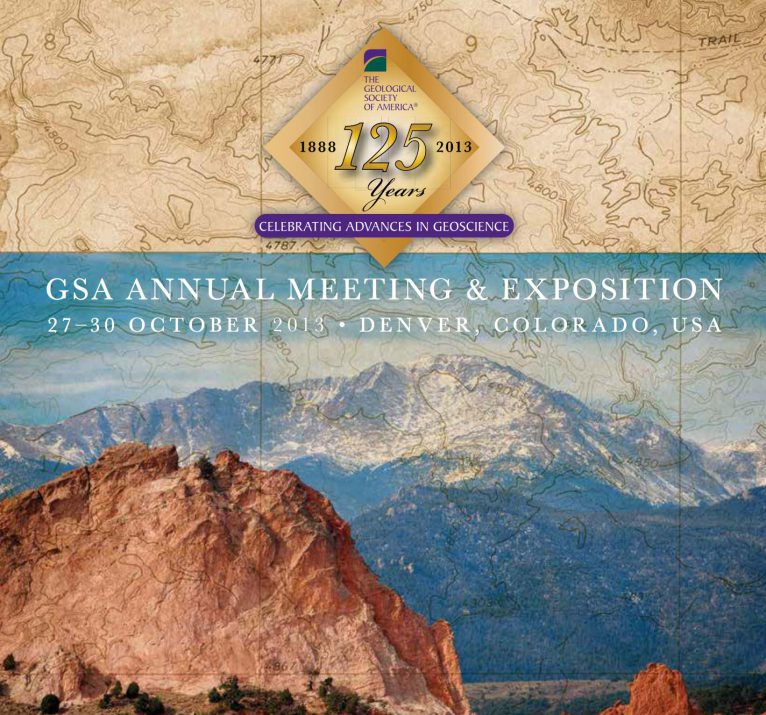 Featured Image for James Adamson presents at 125th Geological Society of America Meeting & Exposition