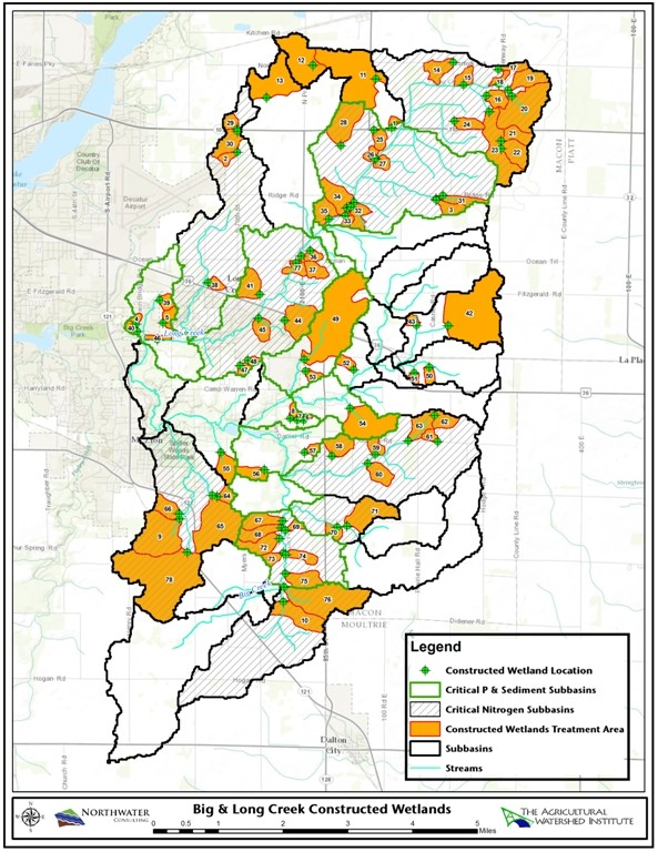 Featured Image for Big Ditch & Big & Long Creek Watershed Implementation Plan