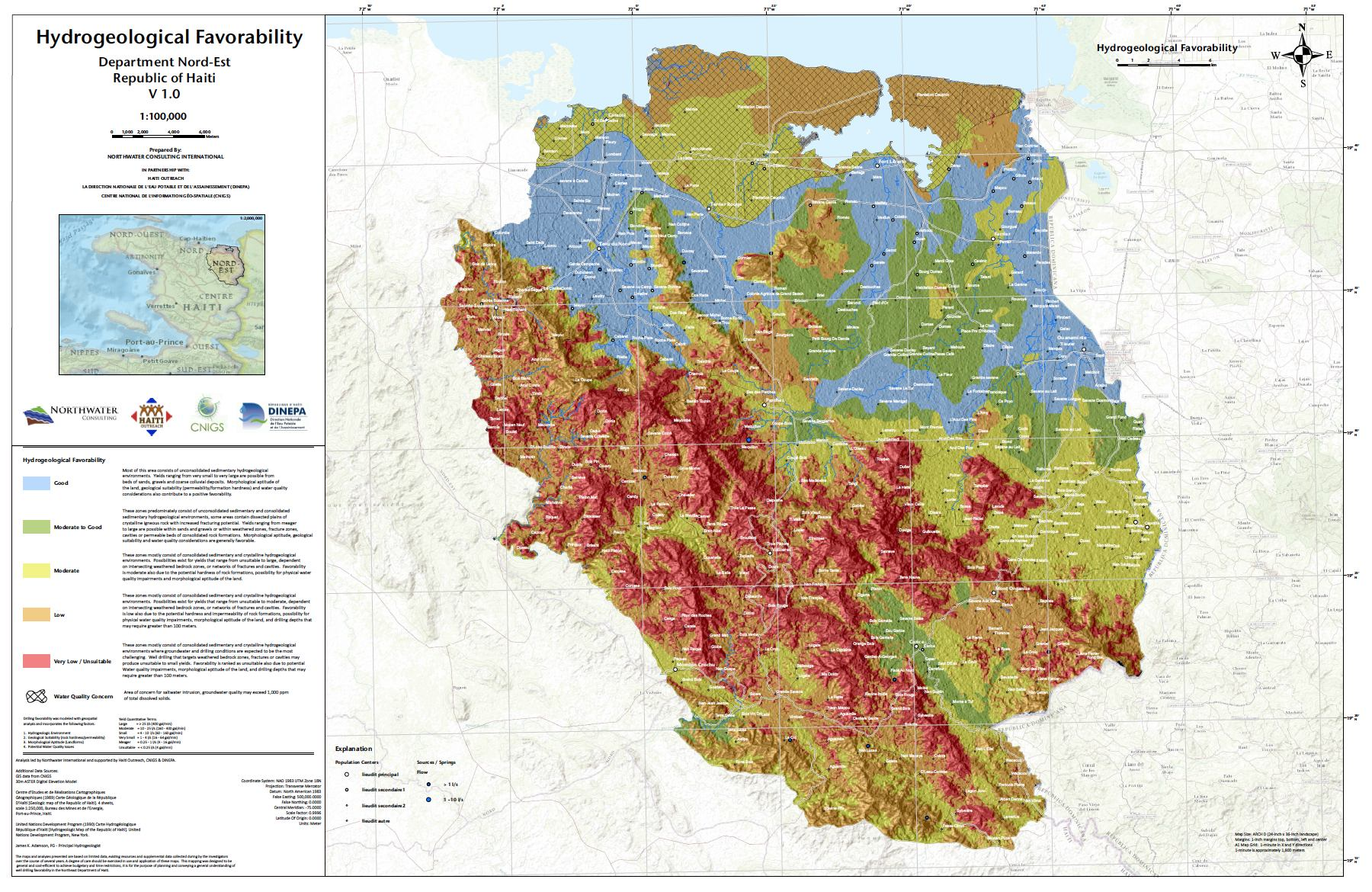 Featured Image for Haiti Groundwater Potential Map – Download