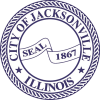 Logo for City of Jacksonville, IL