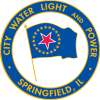 Logo for City, Water, Light, and Power – Springfield, IL