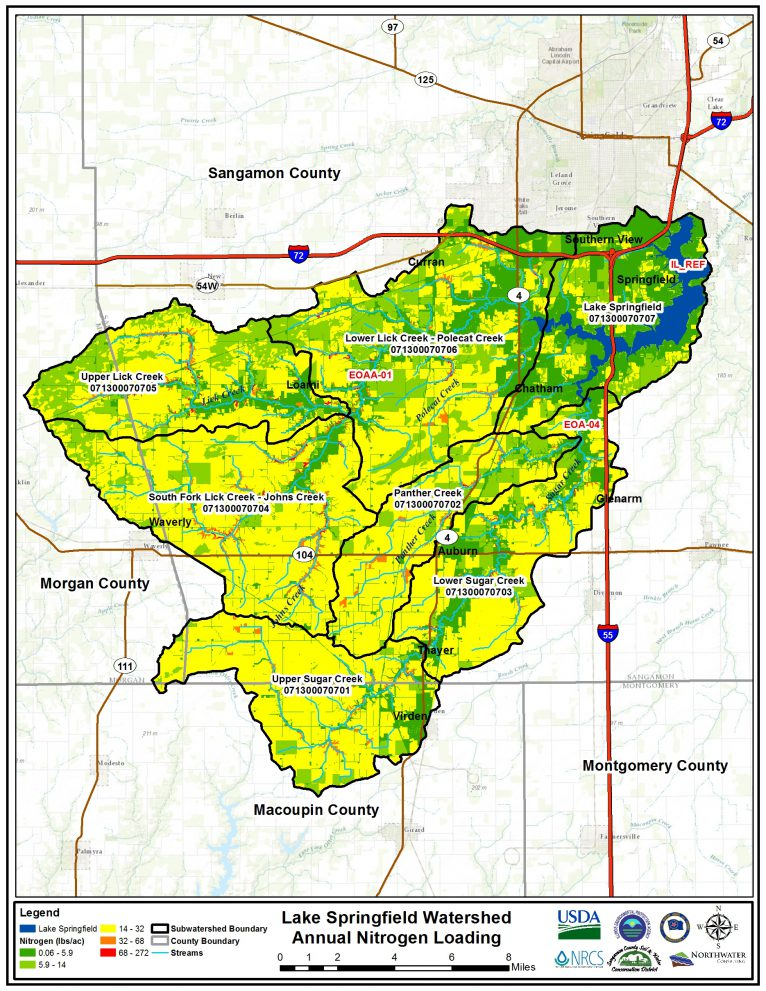 Featured Image for Lake Springfield Watershed Management Plan
