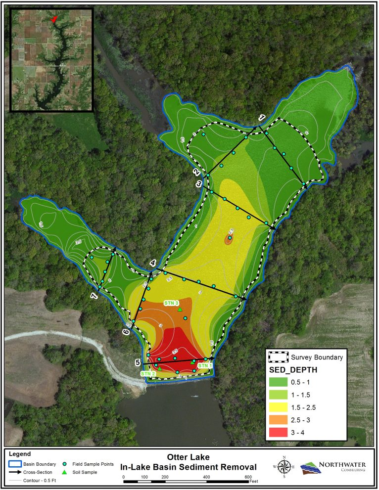 Featured Image for Otter Lake In-lake Sediment Control Basin Dredging Evaluation